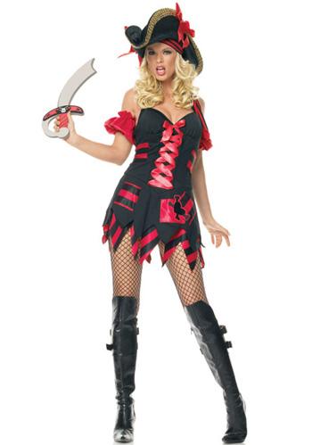 Female Treasure Hunt Captain Costume
