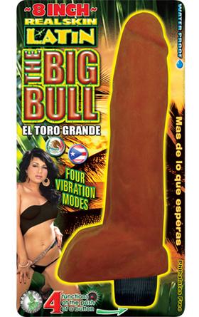 Big Bull 8 Inch Phallic Vibrator